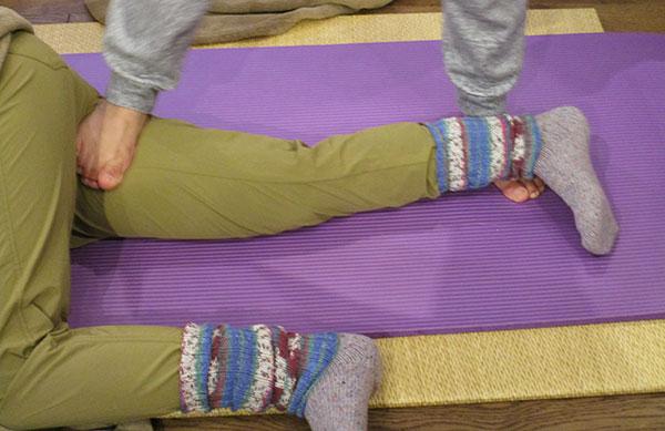 楽健法「足の付け根・全体」
