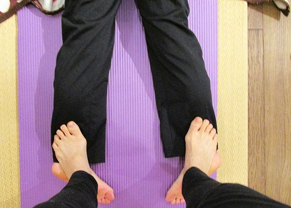 楽健法「足裏」